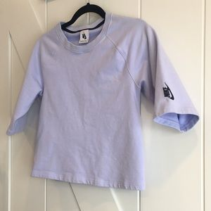 NIKE Lilac Short Sleeved Sweater
